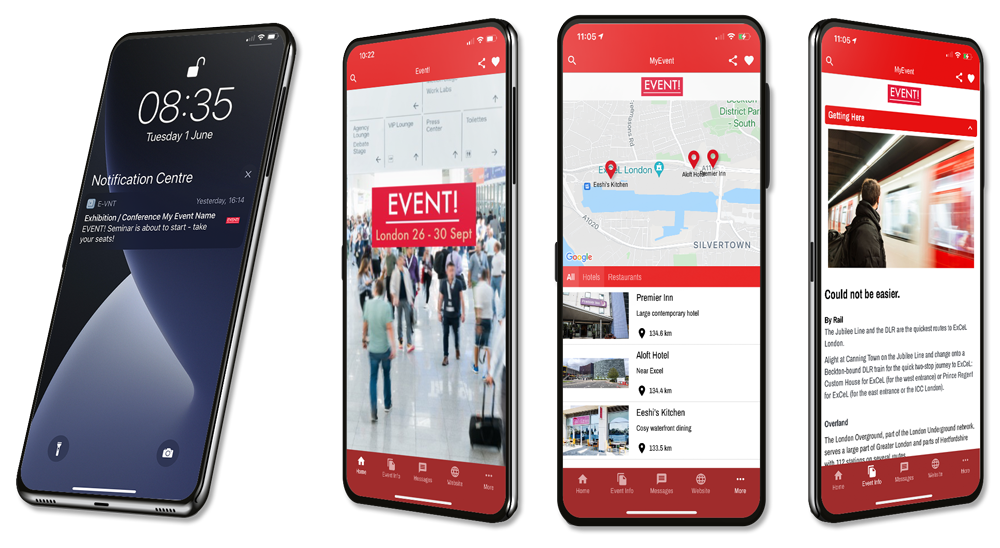 Event App With Push Geofence